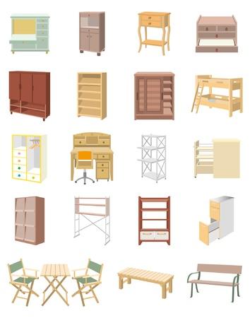 Furniture  イラスト・ベクター素材