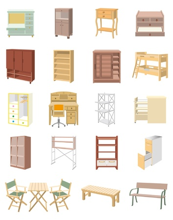 cupboard: Furniture Illustration