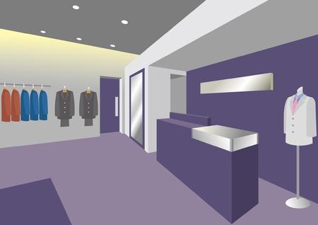 Interior / Boutique / Man
