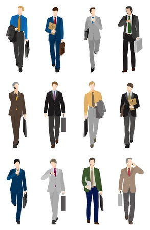 Businessman / Front Stock Vector - 13946922