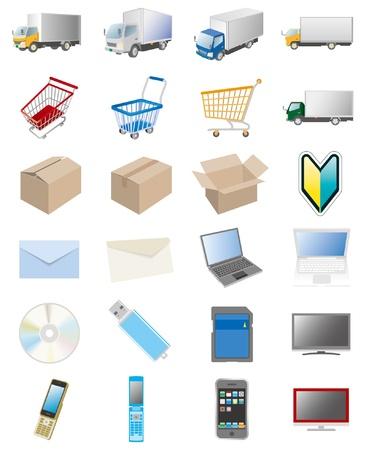 mail order: Business  Internet Illustration