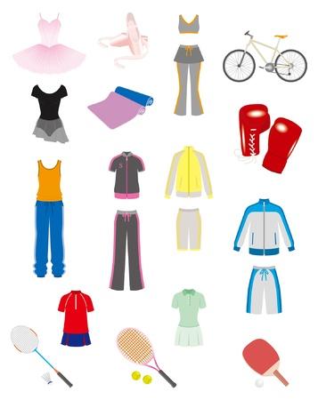 スポーツ用品  イラスト・ベクター素材