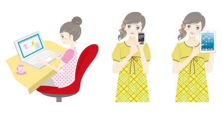 mobilephone: Women to shop