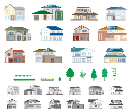 House  Ecology Vector