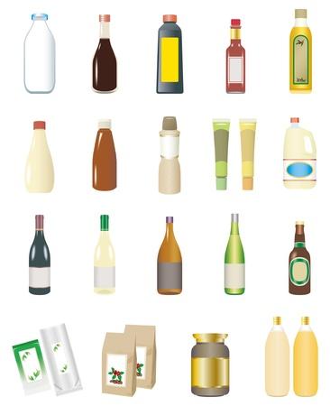 Food / Drink / Seasoning Stock Vector - 17454697
