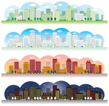 Landscape of the city Stock Vector - 20343504