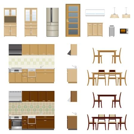 jídelna: Kuchyňský nábytek