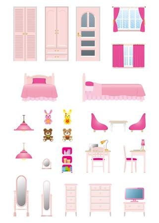 Girls room_furniture