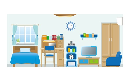 Boys room_Type2 Stock Vector - 20749473