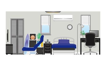 Mens room_Type1 Vector