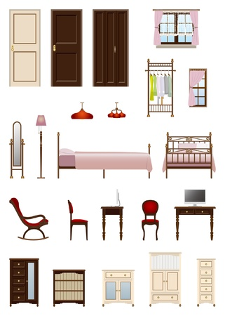 女性 room_furniture