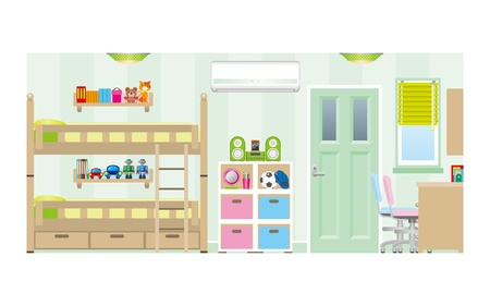 bunk bed: Children   Room   Type1