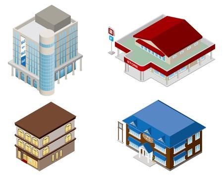 Building   shop   Business
