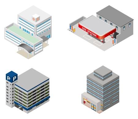 Building   Business  Illustration