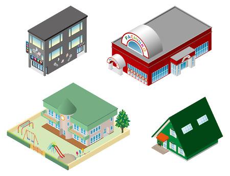 Gebäude Standard-Bild - 24535966