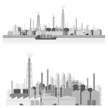 Landschap van de fabriek