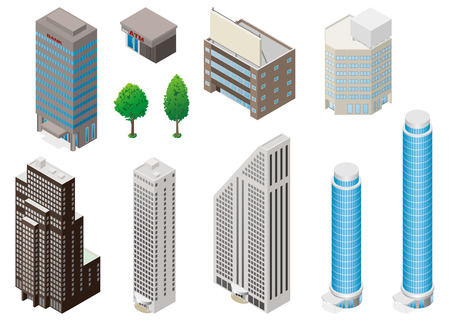 high rise buildings: Building