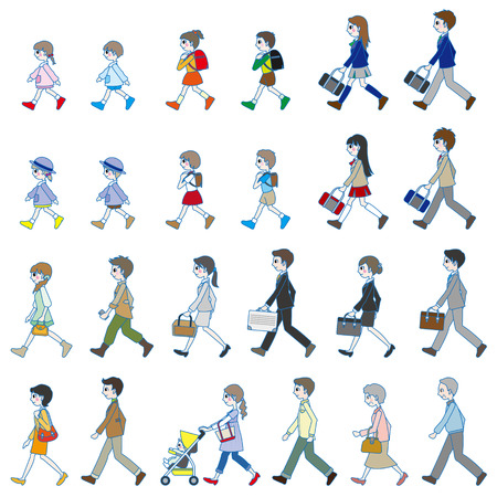 Those who are walking
