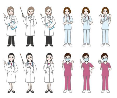 lekarz: Lekarz i pielęgniarka