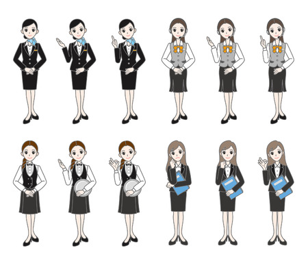 newcomer: Businesswomen    Illustration