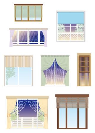 furniture: Furniture   Window Illustration