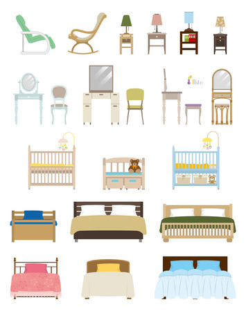 Furniture   Bedroom Vector