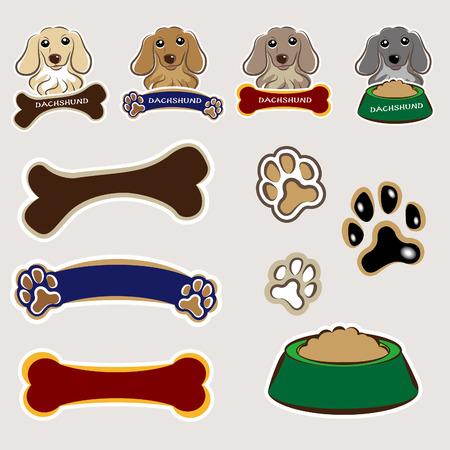 dog food: Dog  Nameplate