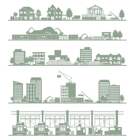 Various city / Construction