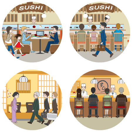lunch room: Business  People who enjoy a meal