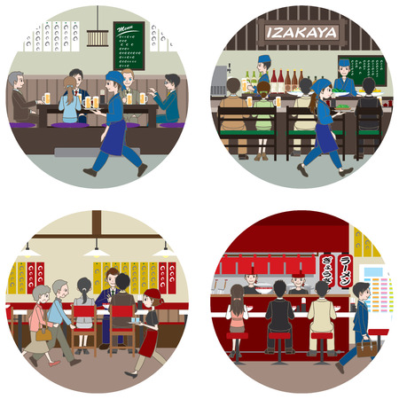 ramen: Business  People who enjoy a meal