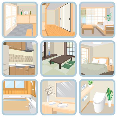 Interior / Room Vectores