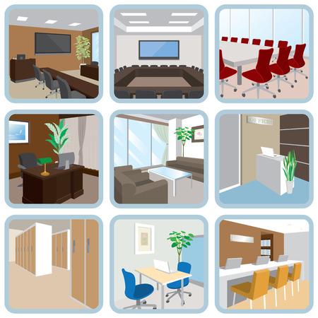 Various office 일러스트