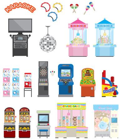 slot machines: Máquina de juego Vectores