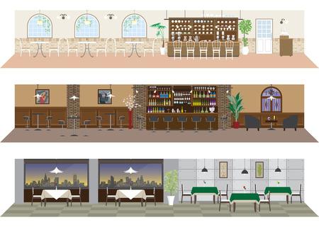 restaurante: Vários restaurantes