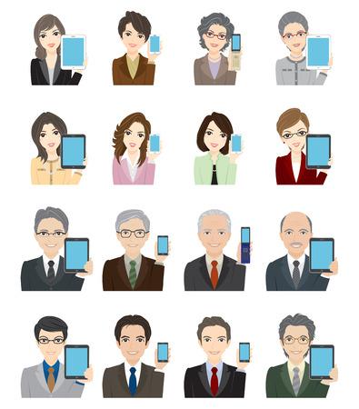 Business-Man Woman  Network