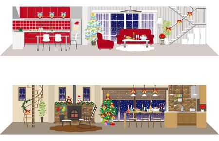 Living space  Christmas