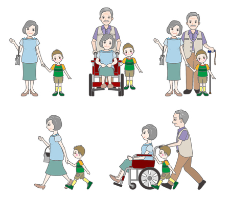systemic: Grandmother and family