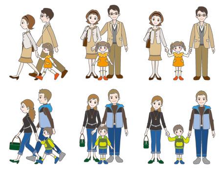 familias felices: Padre e hijo