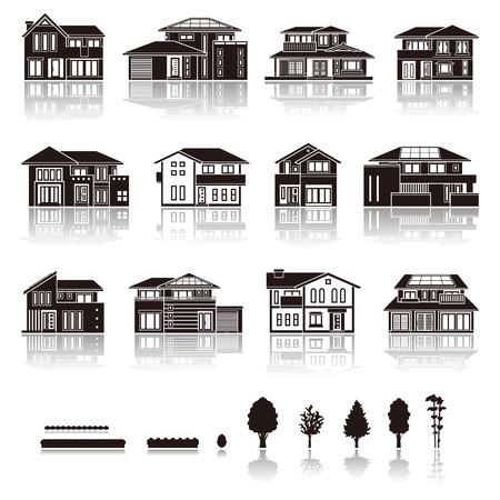Haus-Symbol Standard-Bild - 48964710