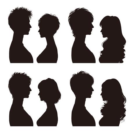 in profile: Couple  Profile