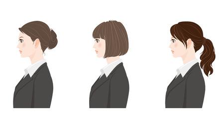 girl short hair: Hairstyle  Businesswoman