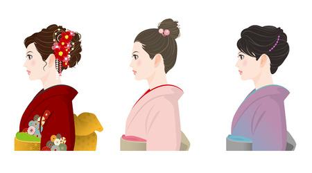 着物の髪型
