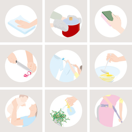washing: Housework