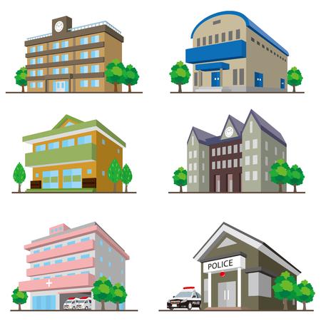 police station: BuildingSolid figure