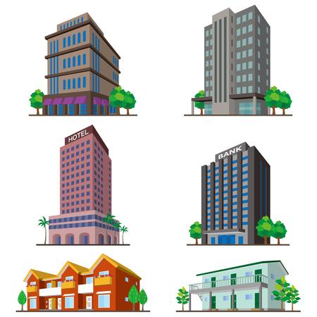 real business: BuildingSolid figure