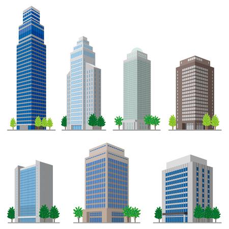 Building/Solid figure Vectores