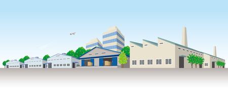 Industriegebiet Standard-Bild - 59490658