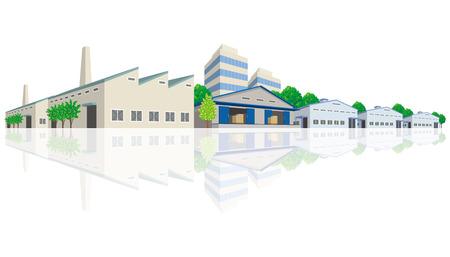 industrial: Industrial area