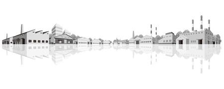 paesaggio industriale: Zona industriale