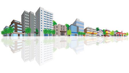 Cityscape Ilustracja
